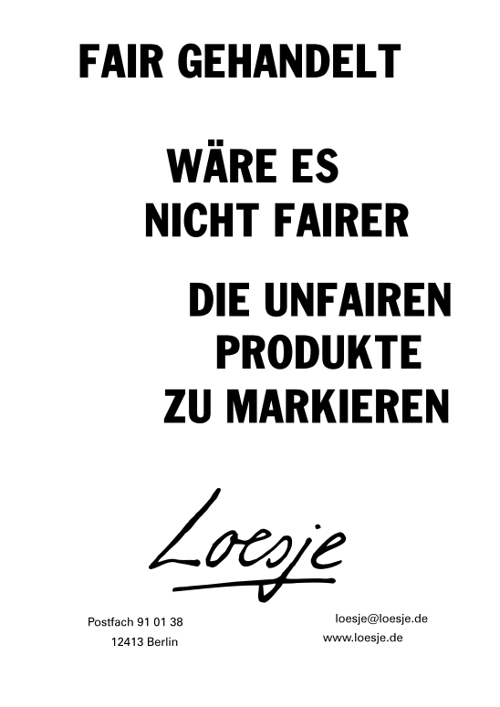 FairTrade_Loesje